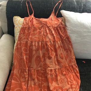 Roxy Orange Summer Dress/Bathing Suit Coverup